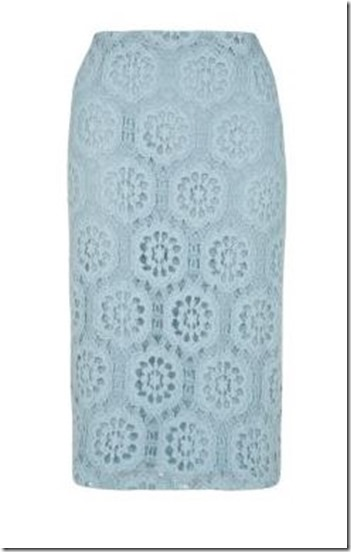 New Look lace pencil skirt